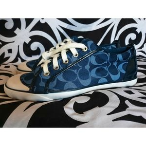 Coach Leatherware Barrett Canvas Sneakers/Shoes